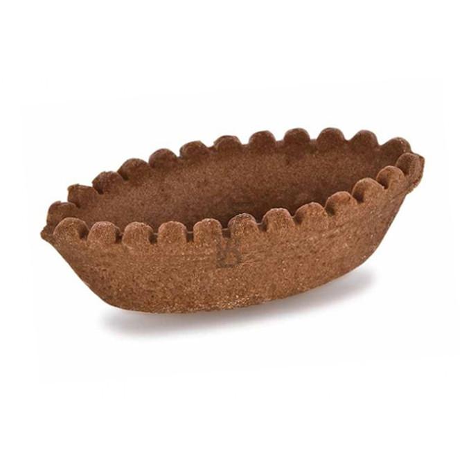 Barchette frolla cacao