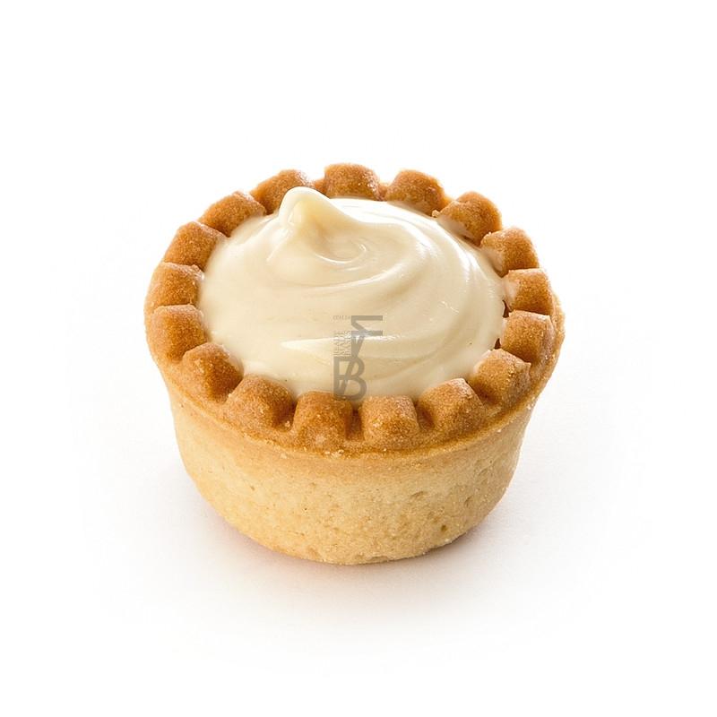 Tartellette micro - crema bianca