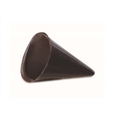 Coni cioccolato fondente