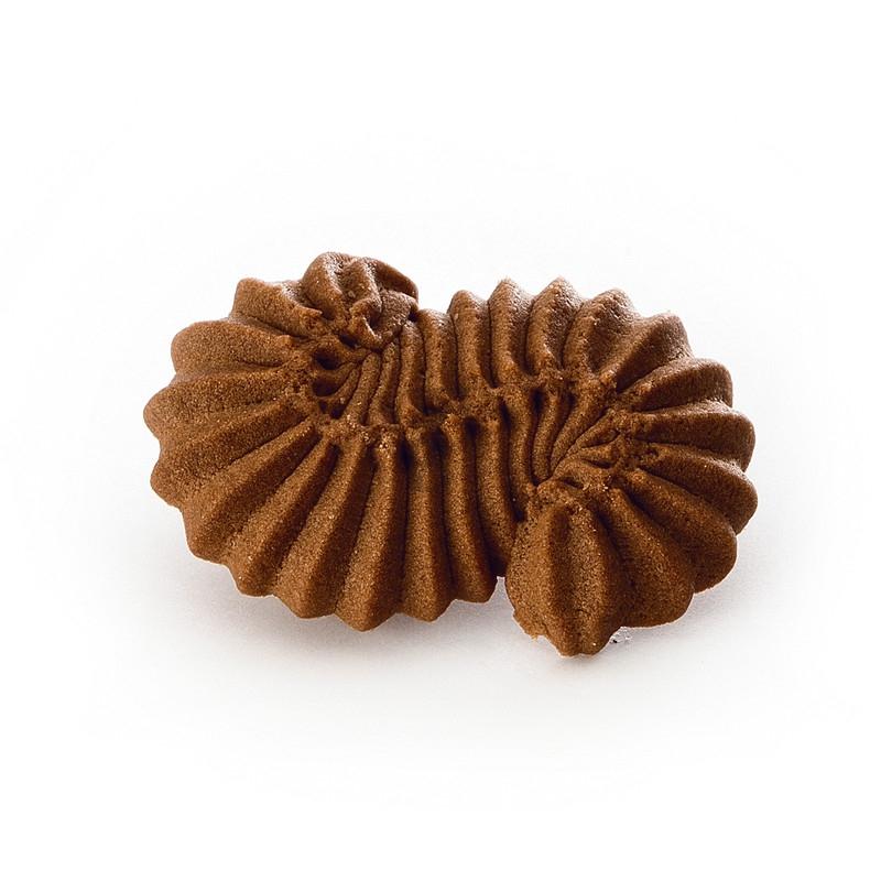 Mini esse di frolla montata cacao