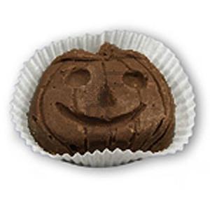 Zucche di halloween cioccolato