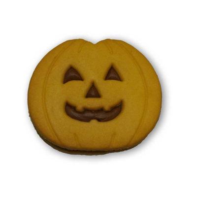 Zucche di halloween farcite crema gianduia