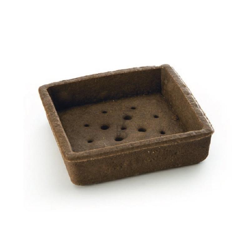 Tartellette frolla cacao quadrate 80 x 80