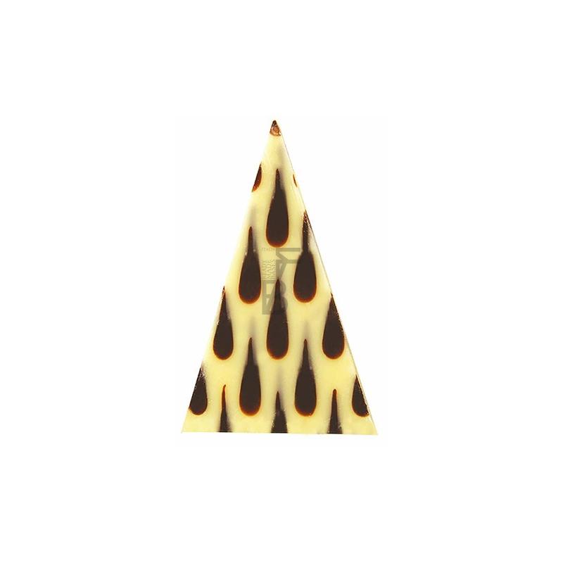Triangoli millegocce cioccolato bianco