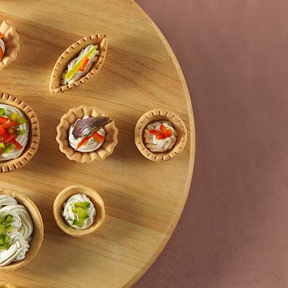 Ampia scelta di prodotti semilavorati e dal design efficace per la pasticceria e per la gastronomia